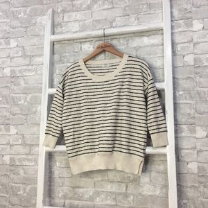 Madewell Wallace Striped Lakeside Sweater Size XS